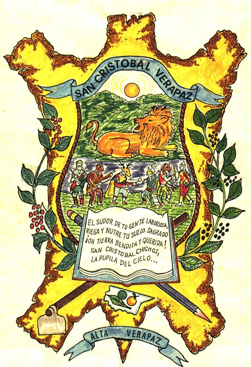 Logotipo municipalidad San Cristóbal Verapaz
