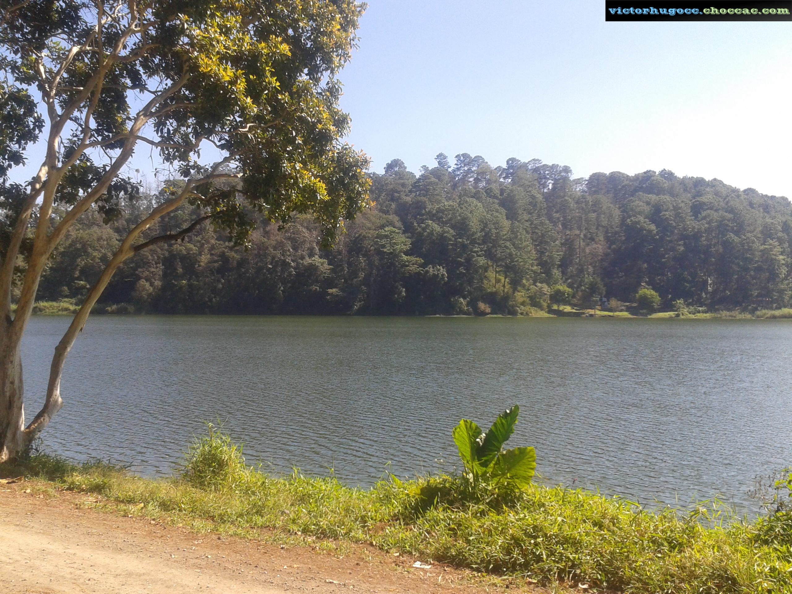 Fotografía Laguna de Chichoj San Cristóbal Verapaz