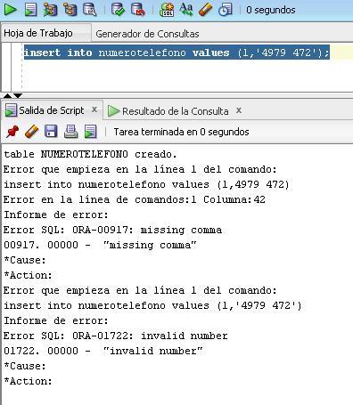 insert into comillas ora-ORA-01722