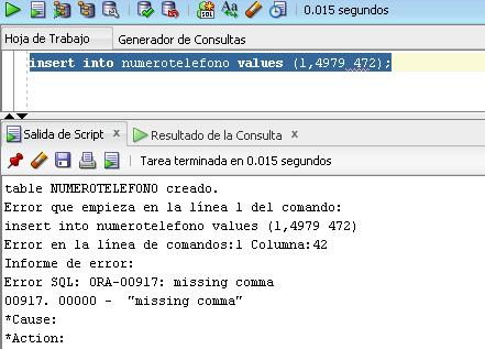 insert into ora-ORA-01722