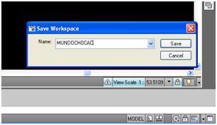 Save Workspace