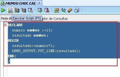 plsql calcular dos numeros